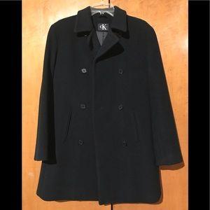 Calvin Klein Vintage Wool Pea Coat